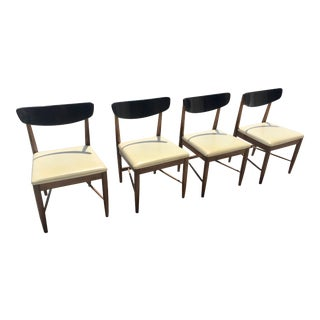 Dining Chairs in Style of Kipp Stewart Danish,Mid Century Modern For Sale
