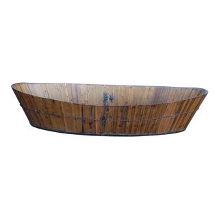 Antique Japanese Soaking Tub For Sale