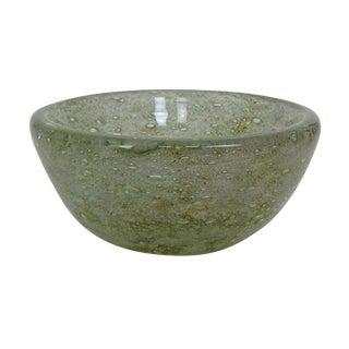 Ercole Barovier For Barovier & Toso 'spuma Di Mare' Murano Art Glass Bowl For Sale