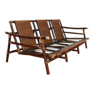 Authentic Ficks Reed Rattan Sofa- John Wisner Far Horizons