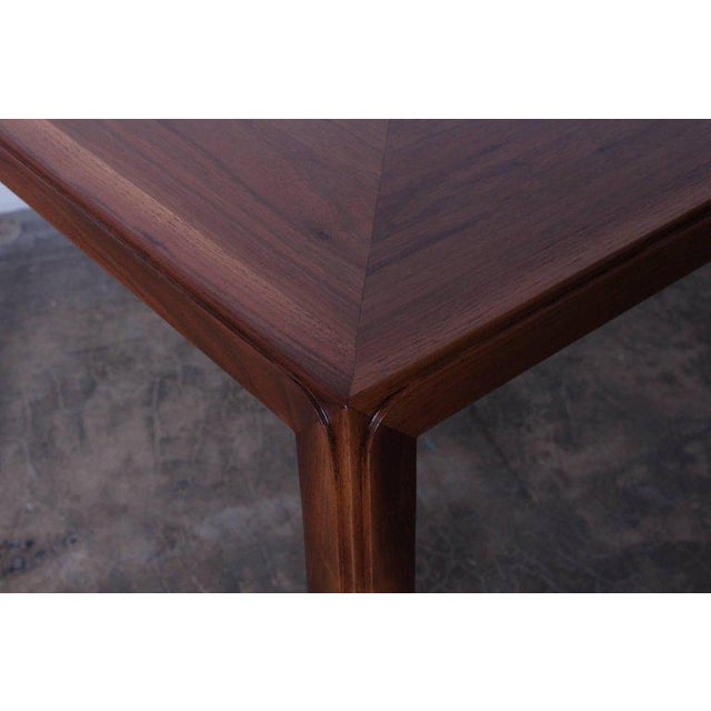 Mid-Century Modern Edward Wormley for Dunbar Game Table with Natzler Tiles For Sale - Image 3 of 11