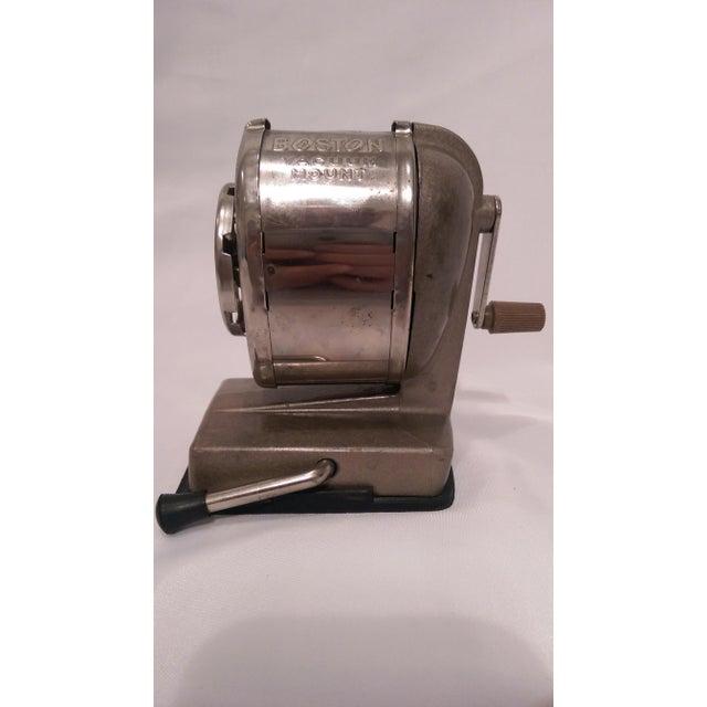 Vintage Boston Vacuum Mount Pencil Sharpener - Image 10 of 10