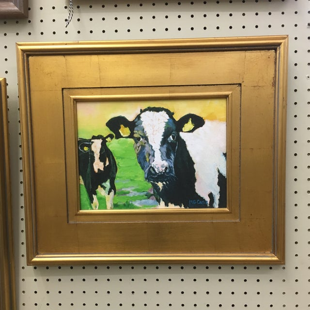 Contemporary Cow Painting For Sale In Richmond - Image 6 of 6