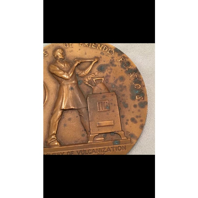 Early 21st Century Rene P. Chambellan Bronze Medallion For Sale - Image 5 of 7