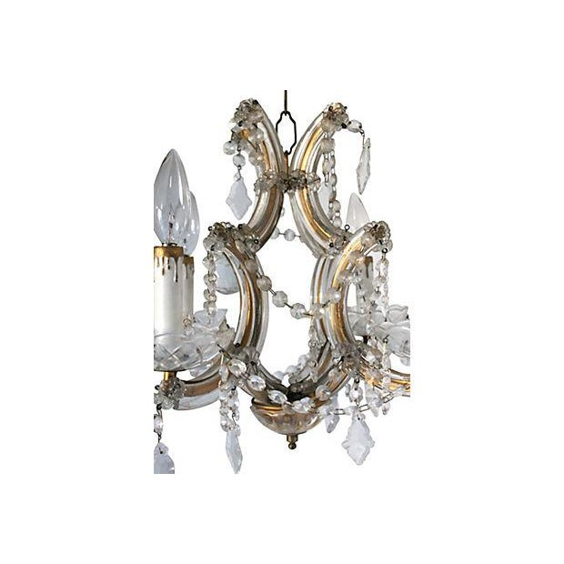 Maria Theresa Crystal Chandelier - Image 2 of 5