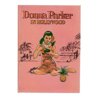 1960s Donna Parker in Hollywood Hardcover Book For Sale