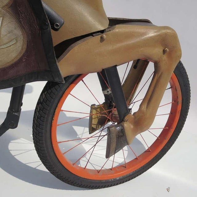 1930s Adult Size, Carnival Horse Racing Bike For Sale - Image 5 of 9