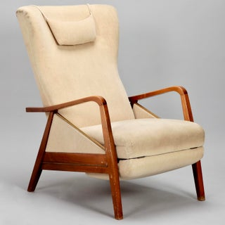 Mid-Century Reclining Chair in the Manner of Paolo Buffa Preview