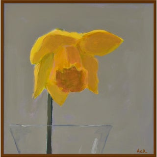 "Medium ""Daffodil"" Print by Anne Carrozza Remick, 38"" X 38"""