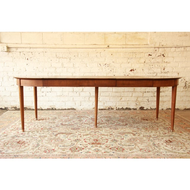 Henredon Mid-Century Dining Table - Image 3 of 9