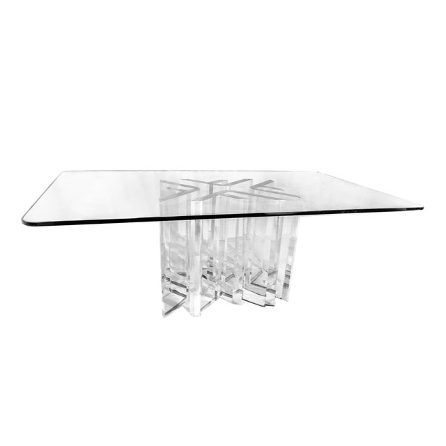 "Custom Jeffrey Bigelow ""Star"" Dining Room Table - Image 3 of 5"