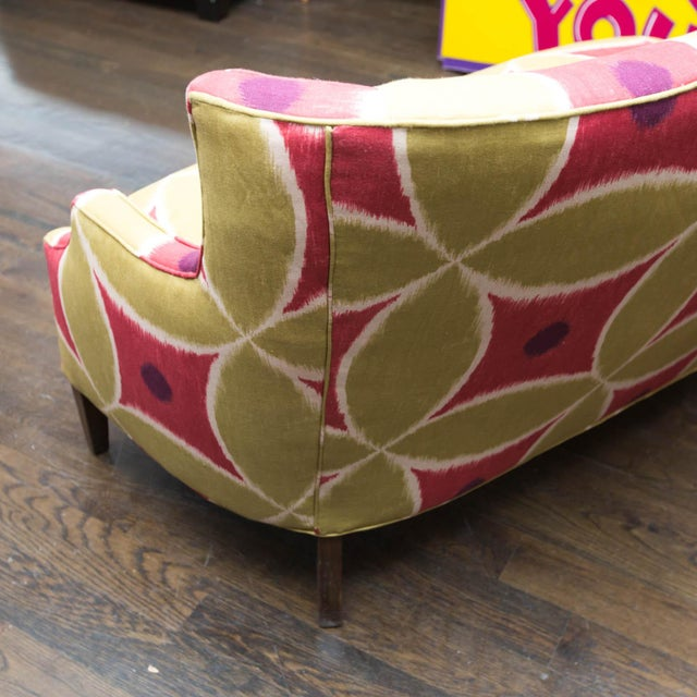Custom Upholstered Down-Filled Loveseat - Image 5 of 9