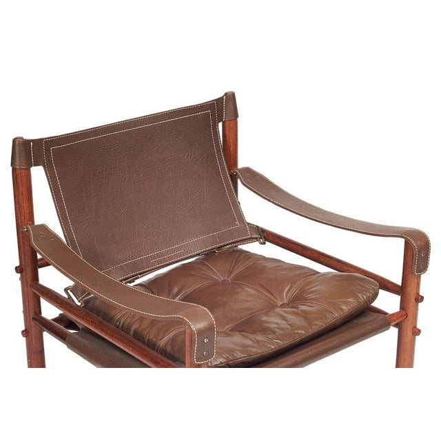 Arne Norell Safari Chairs - A Pair - Image 6 of 8