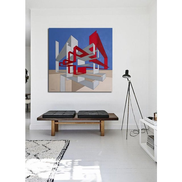 Large scale, geometrical art created by Los Angeles based artist, Brandon Stoughton. He focuses on architectural elements...