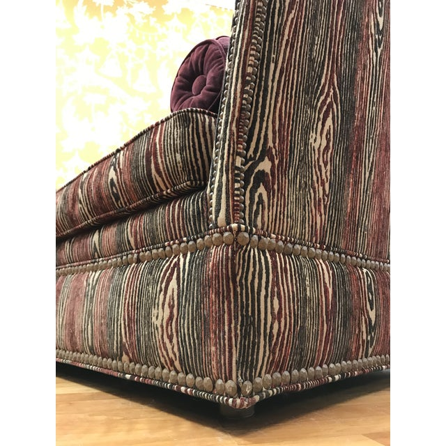1990s 1990s Vintage Upholstered Chaise Daybed For Sale - Image 5 of 7