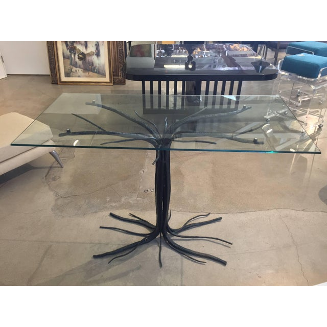 Black Iron Branch or Twig Shaped Table For Sale - Image 8 of 8