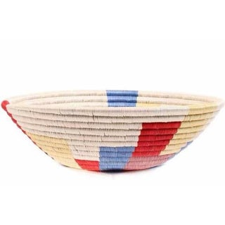 Colorful Woven African Basket Preview
