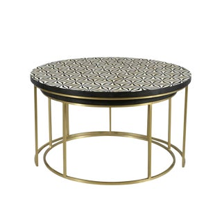Montego Nesting Coffee Tables For Sale