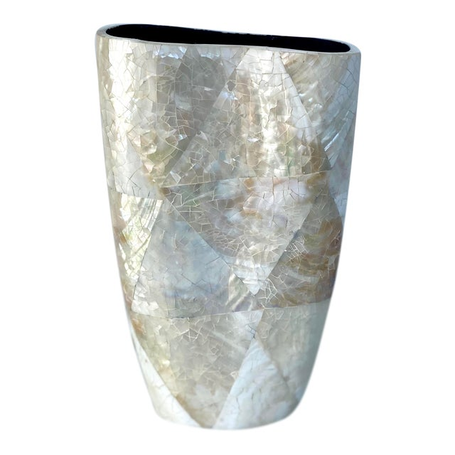 Mother of Pearl Vase For Sale