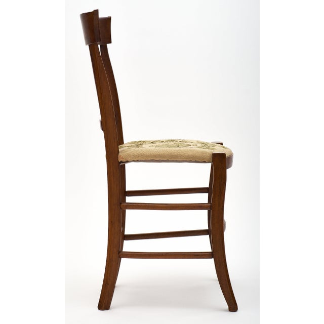 Swell Six Directoire Period Walnut Dining Chairs Chairish Pabps2019 Chair Design Images Pabps2019Com