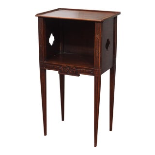 Louis XVI Style Walnut Side Table