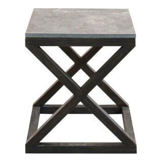 Lewis Cross Oak Side Table