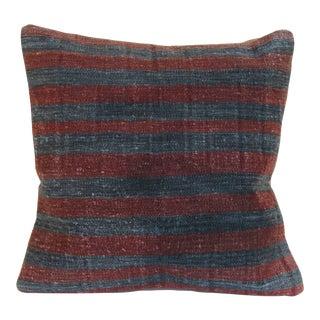 Turkish Kilim Rug Pillow Cover