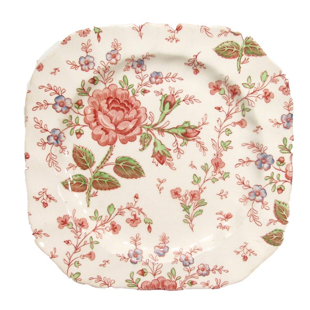 Mid 20th Century Vintage English Rose Chintz China Service - Set of 75 For Sale - Image 5 of 10