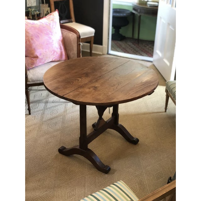 Wood 19th Century French Wine-Tasting Table For Sale - Image 7 of 8