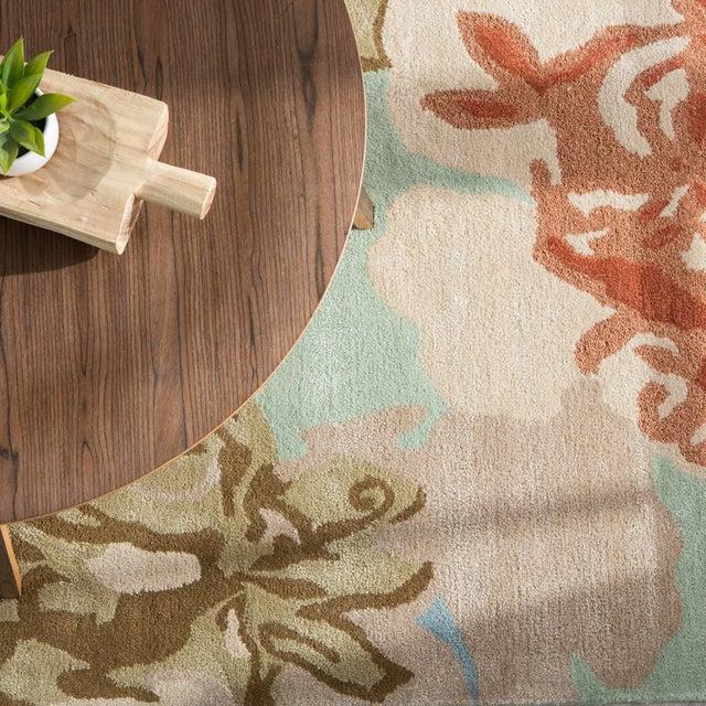 Textile Jaipur Living Petal Pusher Handmade Floral Green Multicolor Area Rug 2'X3' For Sale - Image 7 of 10