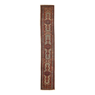 Late 20th Century Vintage Persian Runner For Sale