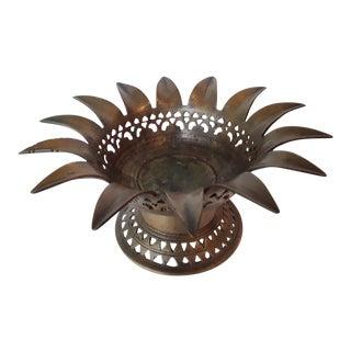 Brass Candleholder Moroccan