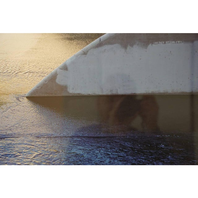 "An image of concrete cutting through the LA river ... ""monoganashii"" Artist proof, Archival Ink Jet Print, 9.21.14 Artists..."