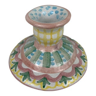 Mackenzie Childs Candle Stick Holder For Sale