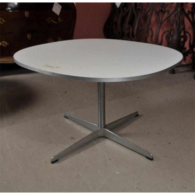 Modern Fritz Hanson Tables Made in Denmark Designed by Bruno Mathsson -- A Pair For Sale - Image 3 of 6