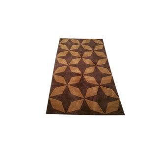 Tibetan Handmade Knotted Rug - 3x5 For Sale