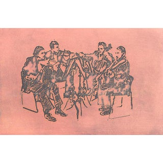 Jacklyn Friedman Fine Art Print - String Quartet