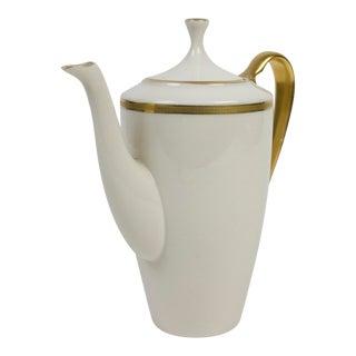 Lenox China Tuxedo Pattern Coffee Pot