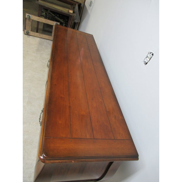 1990s Drexel Heritage Country French Commode For Sale - Image 5 of 13