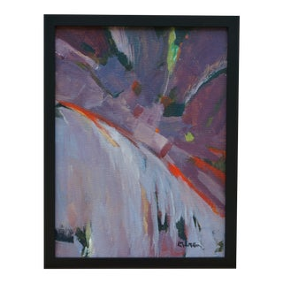 "Laurie MacMillan ""Slide"" Abstract Painting For Sale"