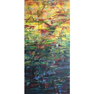 """""""Brighten Up"""" 2014 Original Painting on Wood For Sale"""
