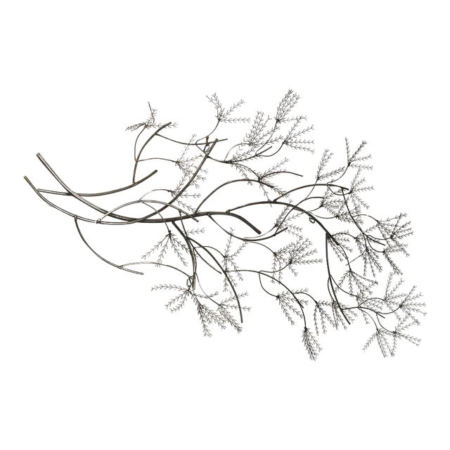 Curtis Jere Wheat Willow Wall Art Sculpture For Sale