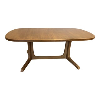 Niels Moller for Gudme Mobelfabrik Teak Extension Dining Table With Two Leaves