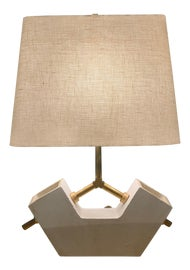 Image of Antique White Table Lamps