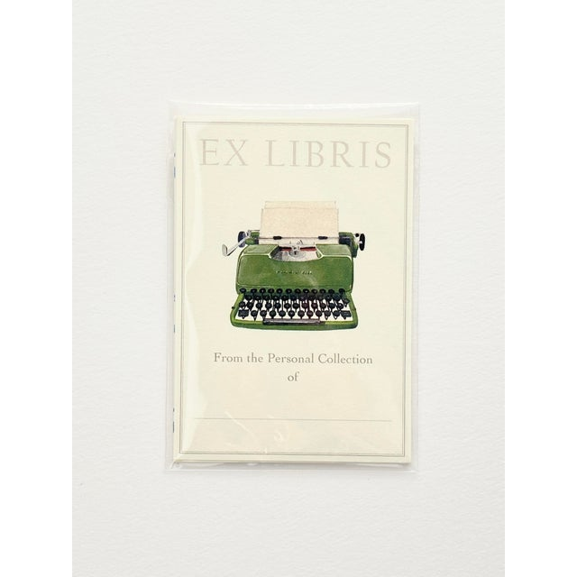Bookplates denote the curator of a personal library collection, mark ownership of journals and notebooks, and extend a...