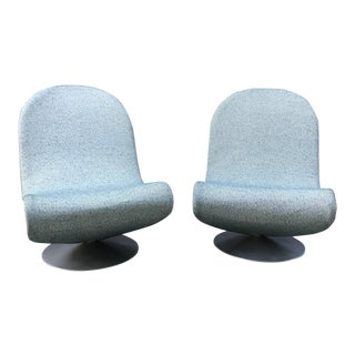 Postmodern Verner Panton System 123 Chairs- a Pair For Sale