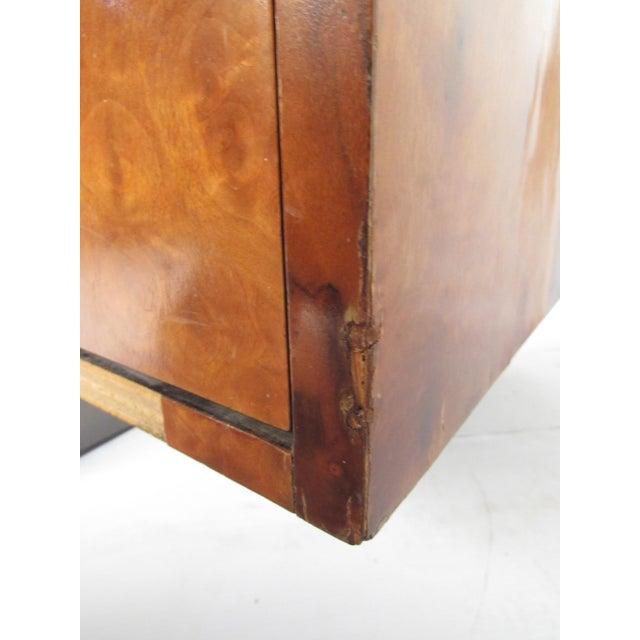 "Paul Evans ""Cityscape"" Burlwood Executive Desk For Sale - Image 10 of 13"
