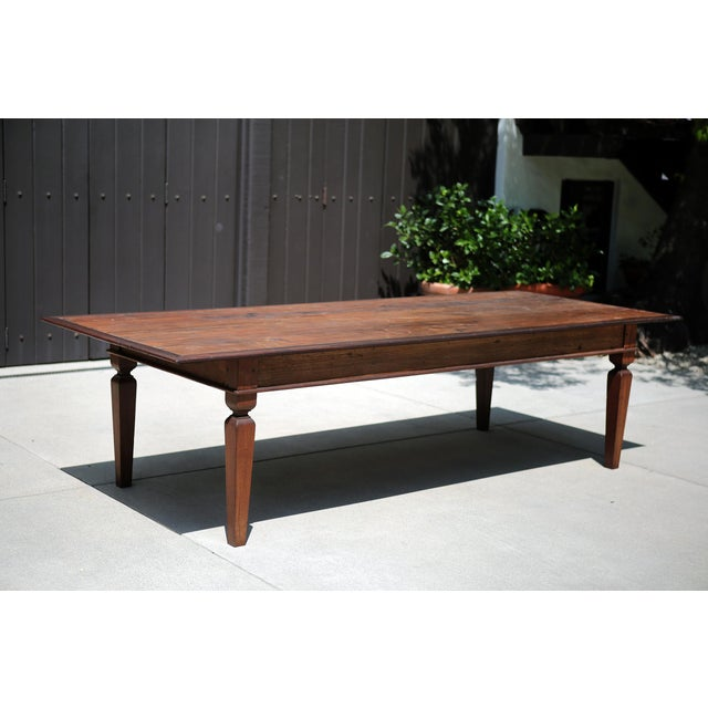 19th C. Portuguese Rosewood Dining Table For Sale - Image 10 of 11