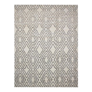 """Aara Rugs Inc. Hand Knotted Navajo Style Rug - 9'9"""" X 13'3"""" For Sale"""