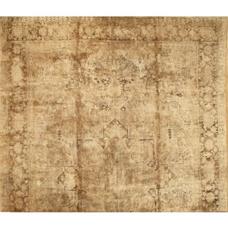 Pasargad N Y Persian Heriz Handmade Hand-Knotted Rug - 13′ × 19′ For Sale